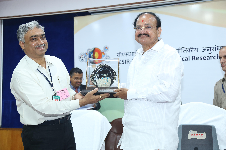 Visit of Hounourable Vice Presient of India Shri M. Venkaiah Naidu to CSIR-NGRI