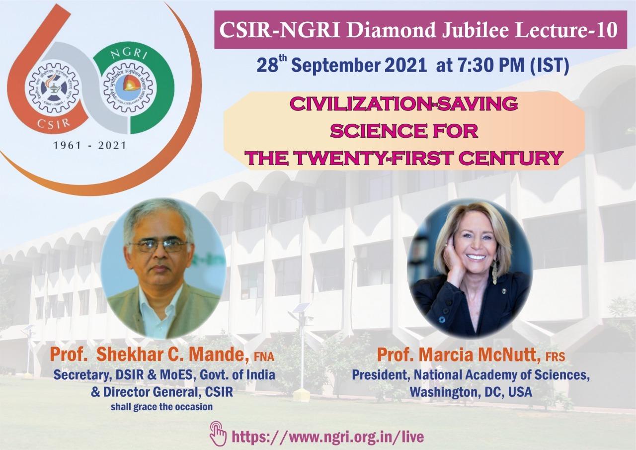 CSIR-NGRI Diamond Jubilee Lecture -10