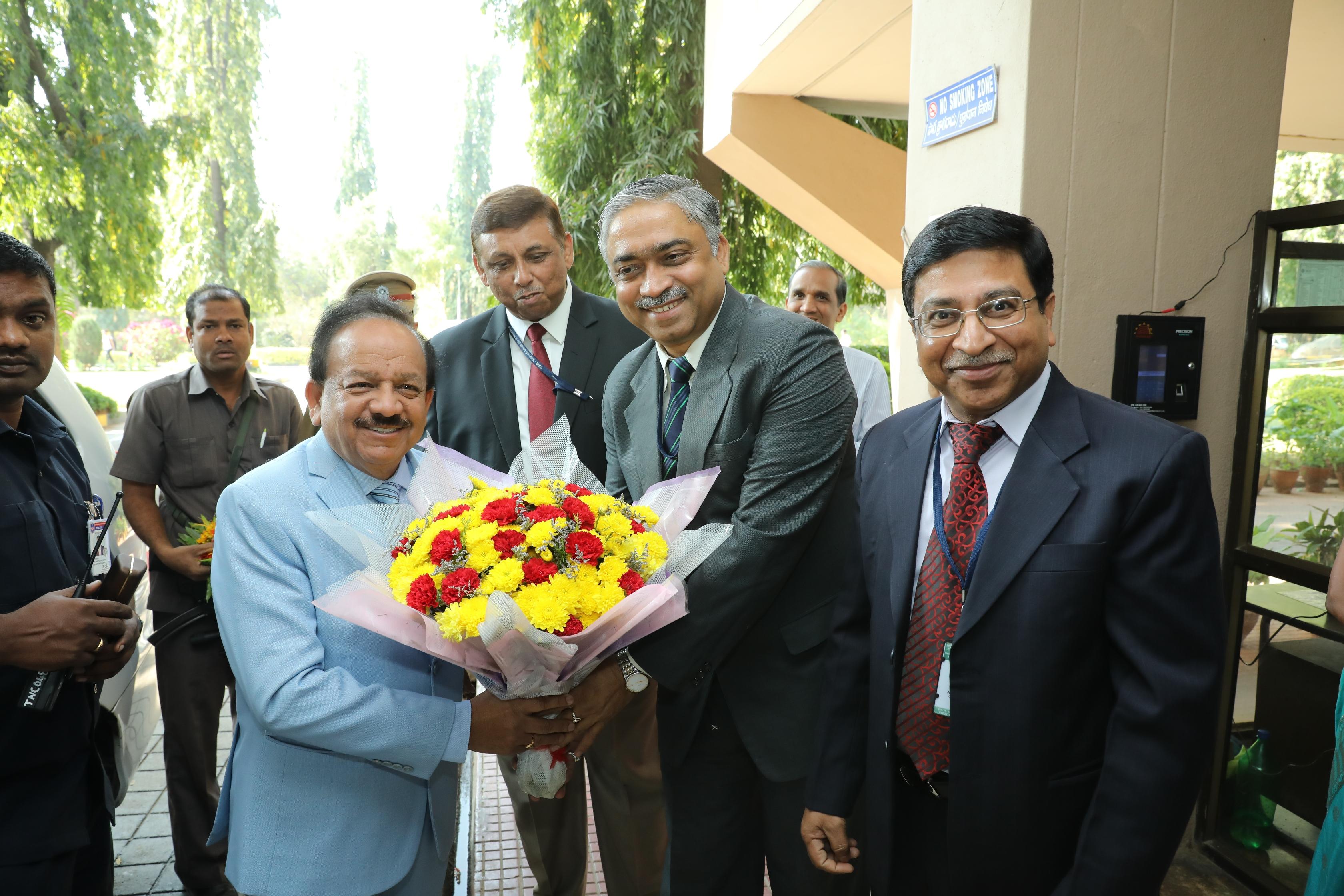 Honourable Minister Visit