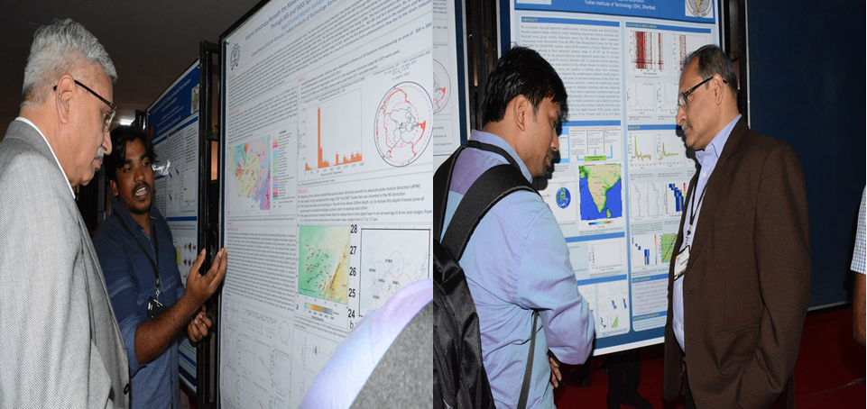 Student poster session during the 54th annual convention of the Indian Geophysical union (IGU) at CSIR-NGRI during 3-7 December 2017