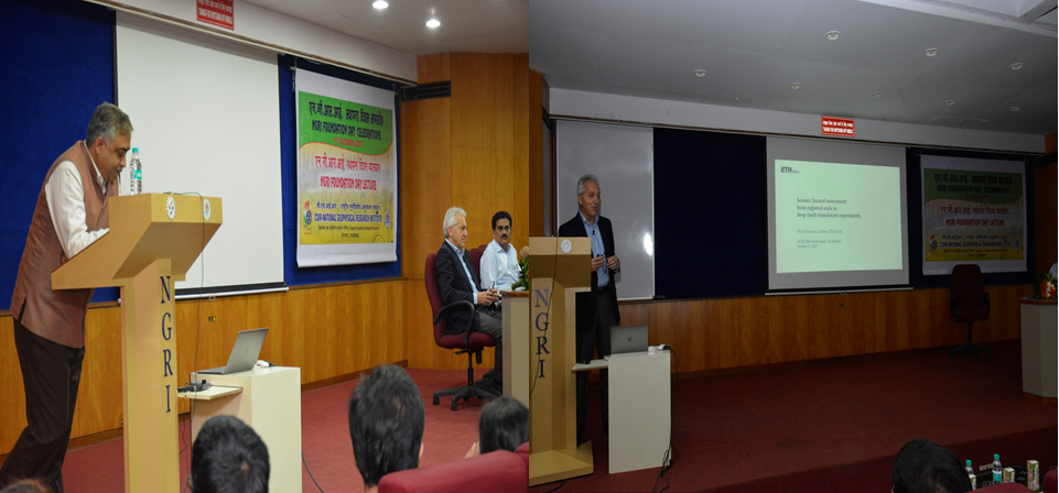 57th CSIR-NGRI Foundation Day Lecture by Prof. Domenico Giardini, (ETH, Zurich, Switzerland)