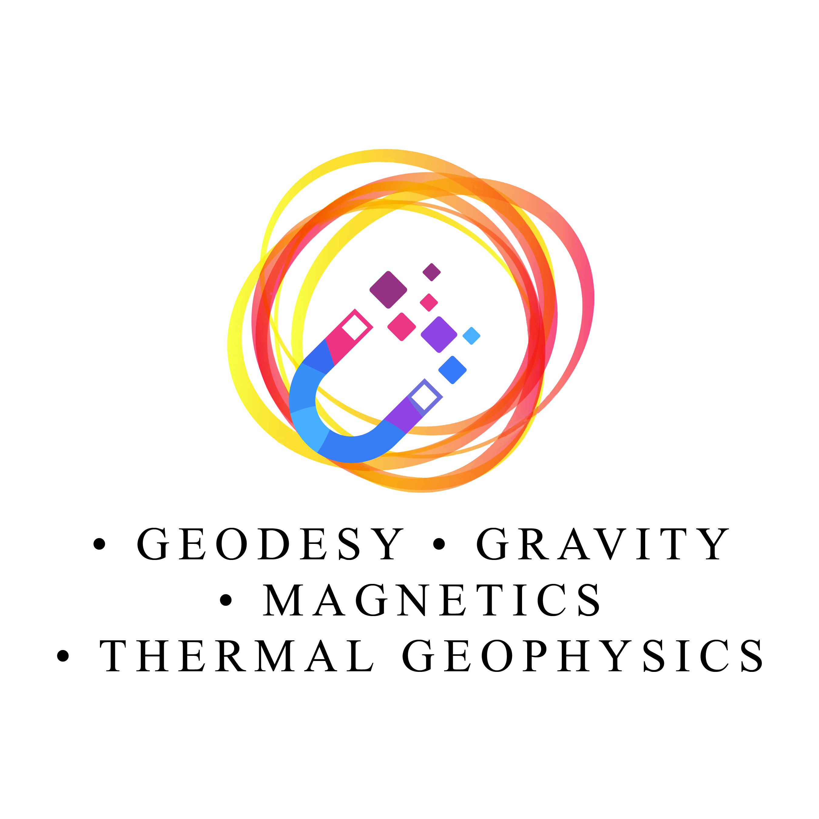 Geodesy, Gravity, Magnetics, Thermal Geophysics, Paleomagnetism and Rock Mechanics